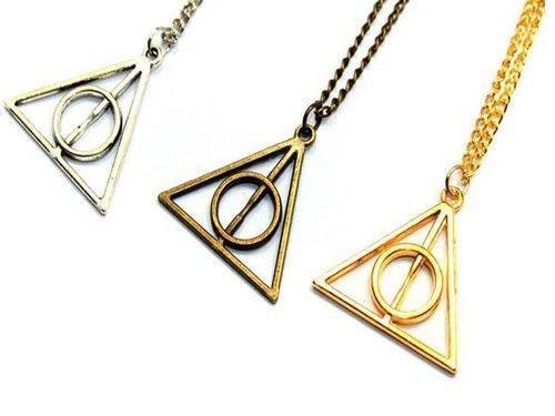 Collar Harry Potter Reliquias De La Muerte + Envío Gratis