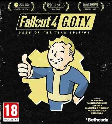Fallout 4 Edicion Juego Del Año + Expansiones -pc Digital