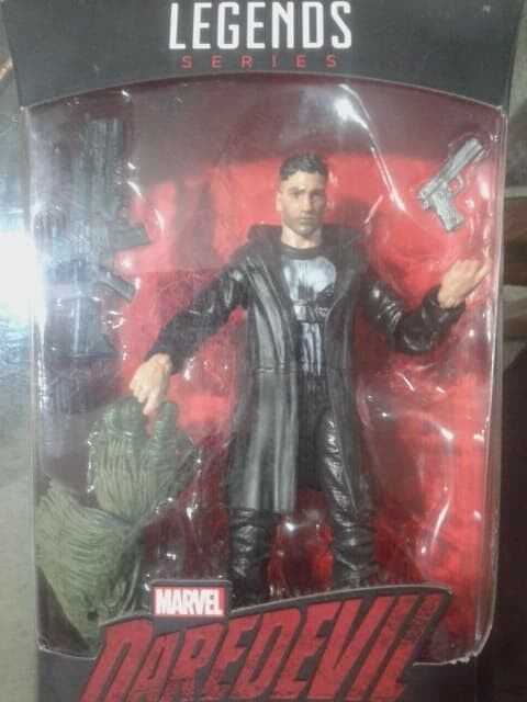 Figura The Punisher Marvel Legends
