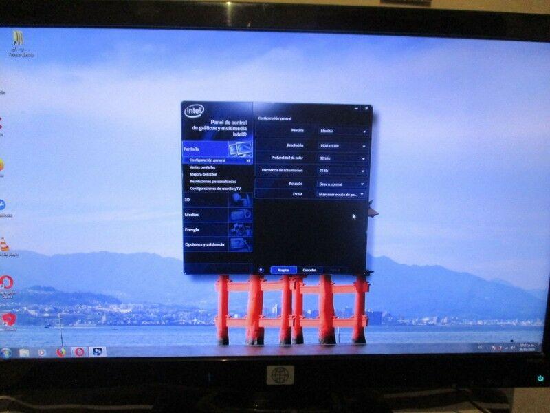 Monitor Hp FUL HD LED barato