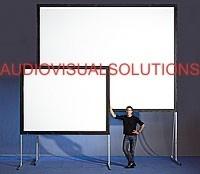 Pantalla De Proyector, Proyeccion Delantera- Trasera 3x3m.