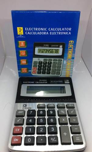 Paquete De 10 Calculadora Electrónica Modelo Kk-800a