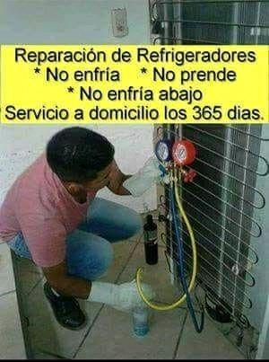 REPARACIÓN de refrigeradores y neveras. VERACRUZ