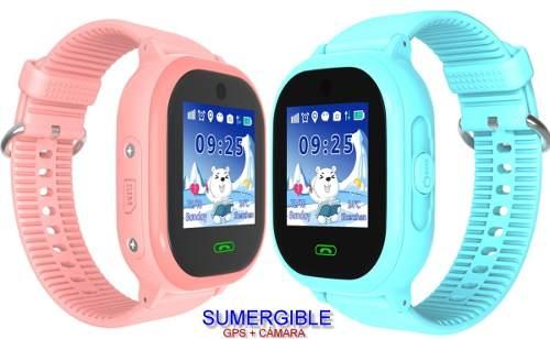 Reloj Smart Watch Gps Localizador Contra Agua Niño