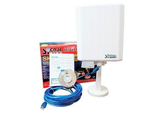 Usb Wifi Exteriores Largo Alcance Signal King. Envío Gratis