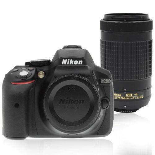 24mp Nikon D5300 Digital Slr Cámara Con Lente De Nikkor