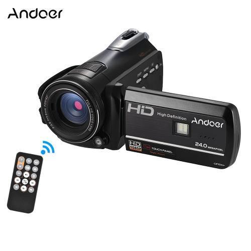 Andoer Hdv-d395 Cámara Vídeo Digital Dv Wifi 1080p Negro D