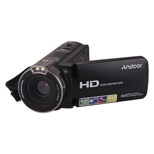 Andoer Mejorado 1080p Completo Hd Digital Vídeo Cámara Por