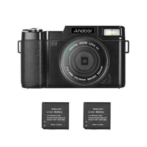 Andoer R1 1080p 15fps Completo Hd 24mp Digital Cámara Leva