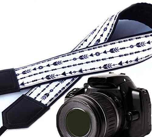 Arrows Camera Strap. Dslr / Slr Camera Strap. Photo Camera A