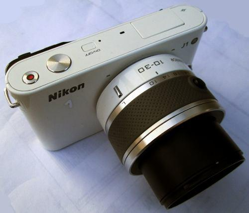Bd Cámara Digital Nikon 1 J1 10.1 Mpx Hd Reflex S/e