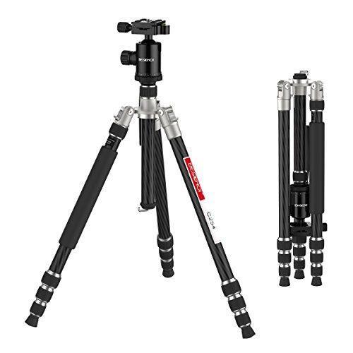 Beschoi Camera Tripod For Dslr Slr Lightweight Carbon Fiber