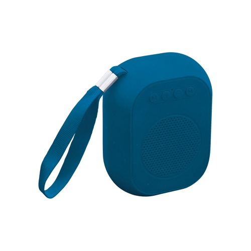 Bocina Bluetooth Mini Recargable Usb, Micro Sd  Azul