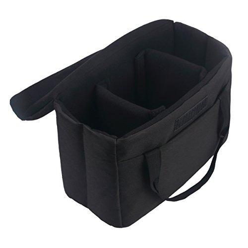 Bomkee Dslr Slr Camera Insert Bag Waterproof Camera Inner Ca