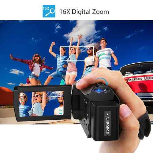 Camara Digital De Videograbacion Andoer 4k 1080p 48mp Wifi