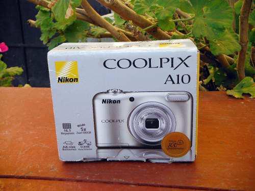 Camara Digital Nikon Coolpix A10 De 16.1 Mgpx (01)