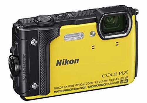 Camara Digital Nikon Coolpix W300 Amarilla **caja Abierta**