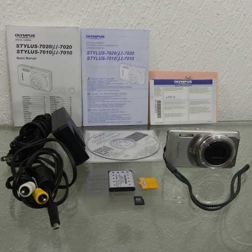 Camara Digital Olympus Stylus 7010 Con Batería Y Accesorios
