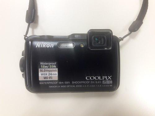 Camara Nikon Coolpix Aw120