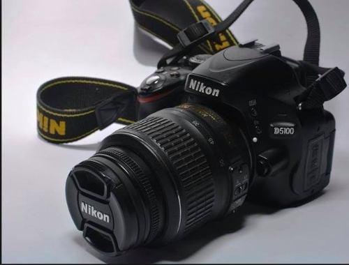 Camara Nikon D5100 Con 2 Lentes, Trípode Y Estuche Incluido