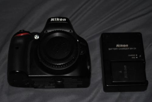 Camara Reflex Slr Nikon D5100 16.2mp Cuerpo 18mil Disparos