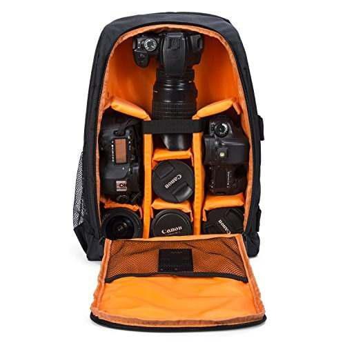 Camera Backpack Waterproof By G-raphy For Dslr /slr Cameras