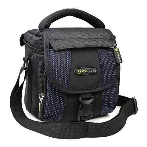 Camera Bag, Evecase Small Shoulder Case For Compact Slr Dslr
