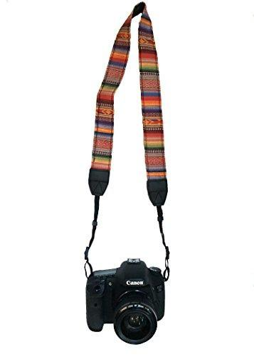 Camera Neck Shoulder Belt Strap For Dslr / Slr / Nikon / Can