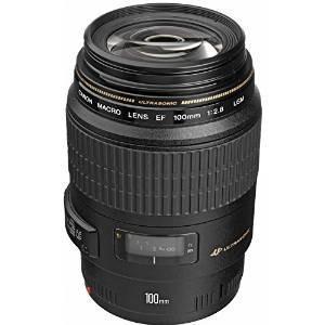 Canon Ef 100mm F / 2,8 Macro Usm Lente Fijo Para Canon Slr C