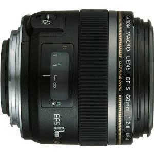 Canon Ef-s 60 Mm F / 2,8 Macro Usm Lente Fijo Para Canon Slr