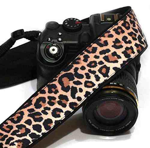 Cheetah Camera Strap. Leopard Camera Strap. Slr / Dslr Camer
