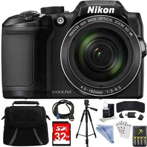 Cámara De Foto Digital Nikon Coolpix B500 16mpx Zoom Optico