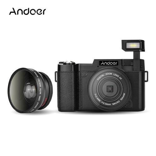 Cámara Digital Cdr2 1080p 15fps Completo Hd 24mp Negro