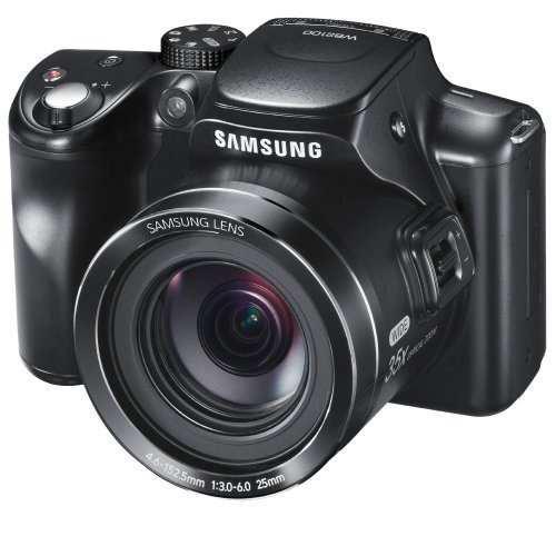 Cámara Digital Cmos Samsung Wb2100 De 16.4mp Con Zoom