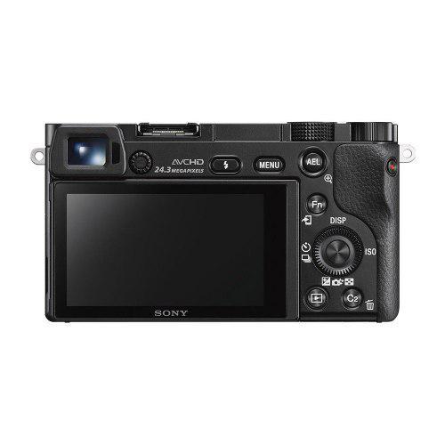 Cámara Digital Espejo Sony Alpha A6000 - Sólo Cuerpo Negro