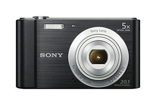 Cámara Digital Sony Dscw800 / B 20.1 Mp (negro)