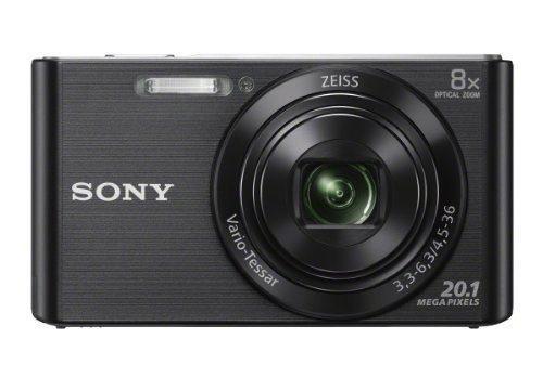 Cámara Digital Sony Dscw830 / B 20.1 Mp Con Lcd 2.7 Pulgada