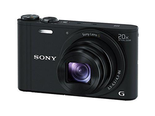 Cámara Digital Sony Dscwx350 De 18 Mp (Negro)