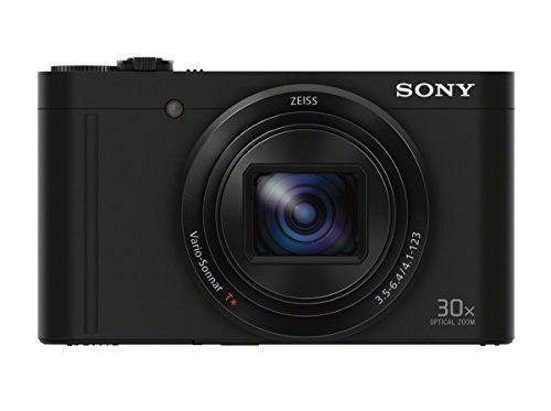 Cámara Digital Sony Dscwx500 / B Con Lcd 3 Pulgadas (Negro