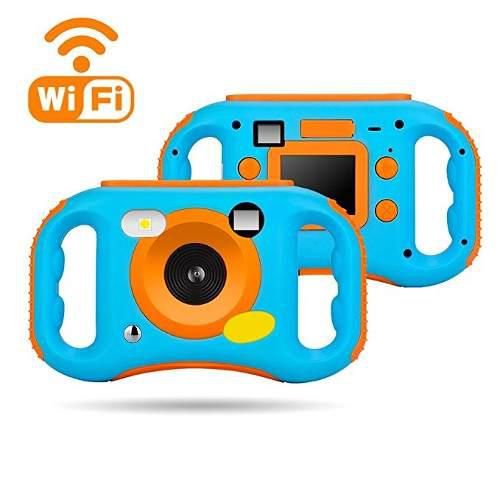 Cámara Digital Weiliante Wifi Para Niños, 12mp Hd Grabador