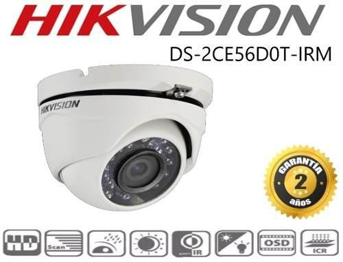 Cámara Eyeball 1080p / 2 Antivandalismo Mp Ds-2ce56d0t-irm