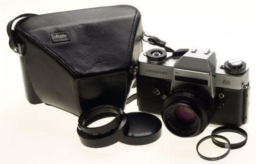 Cámara Leicaflex Chrome Slr Leitz Con Lente (inv 211)