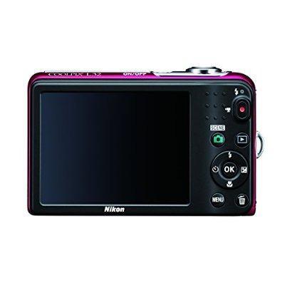 Cámara Nikon Coolpix L32 Digital 5x Con Gran Angular Nikkor