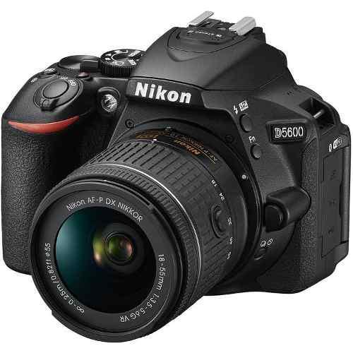 Cámara Nikon D5600 Reflex Lente Af-p Dx Nikkor 18-55mm