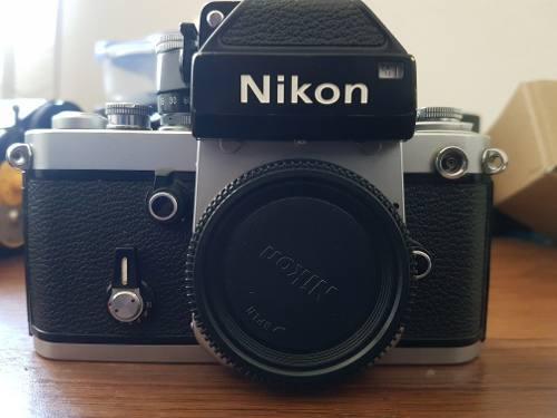 Cámara Nikon F2 Analoga Nikkor Rollo Funcional