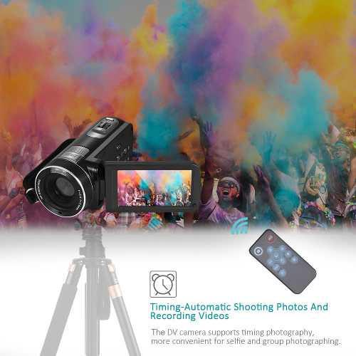 Cámara Vídeo Digital Completo Hd 1080p Videocámara 16 Neg