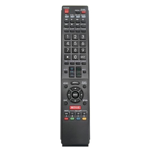Control Remoto Smart Para Tv Sharp Pilas Gratis