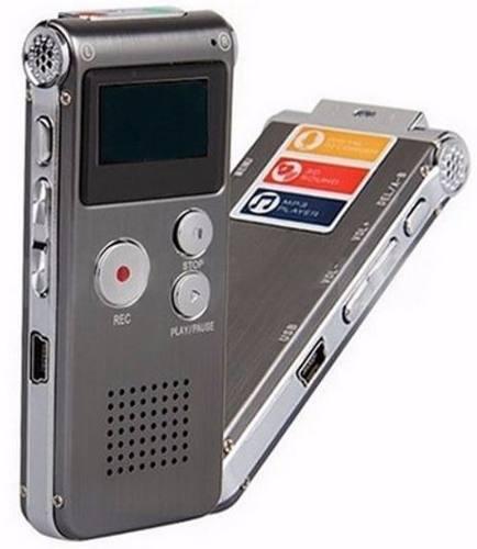 Grabadora De Voz Digital Profesional Multifuncional - T147