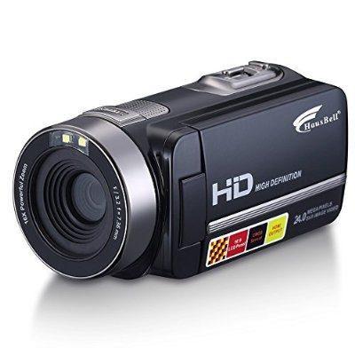 Hausbell Hdbv-301 Full Hd Videocámara Digital De 1920 X