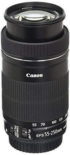 Lente Canon Ef-s 55-250mm F4-5.6 Is Stm Lens For Canon Slr C